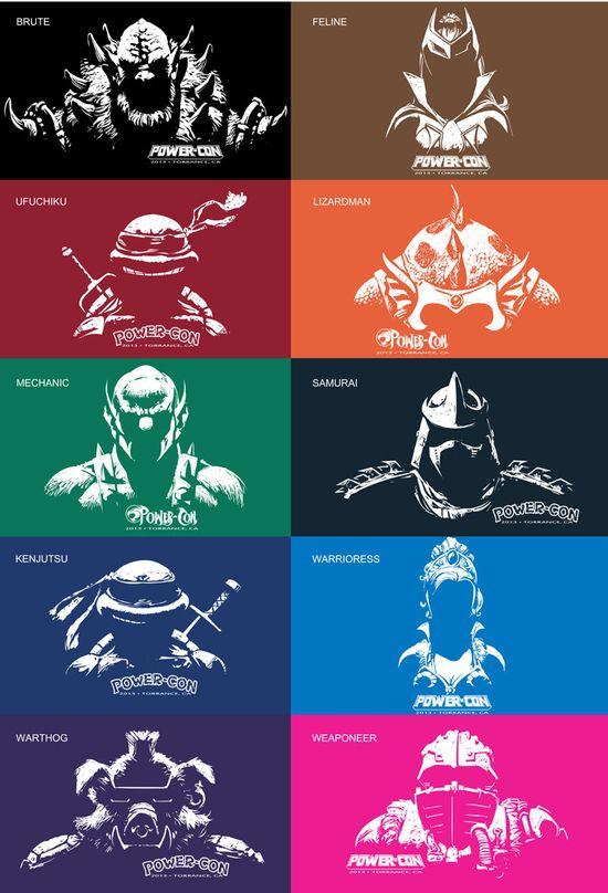 Powercon 2013, He-man, She-ra, Princess of Power, Masters of the Universe, Tanya Tate, Cosplay, Teenage Mutant Ninja Turtles, Thundercats, Beast Man, Man At Arms, Teela, Shirt, Collectible, Event