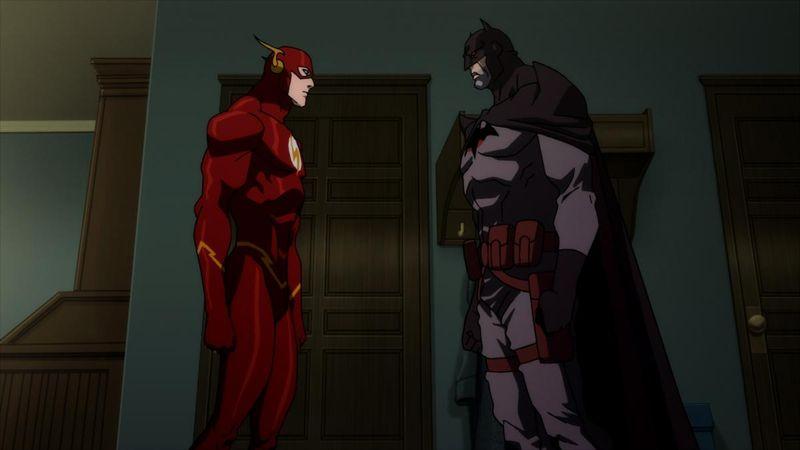 Justice League  The Flashpoint Paradox Flash Batman