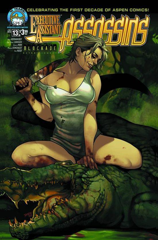EXECUTIVE ASSISTANT ASSASSINS 13 Aspen Comics