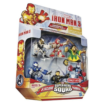 Iron Man 3 Marvel Figure Superhero Squad Target Exclusive 00