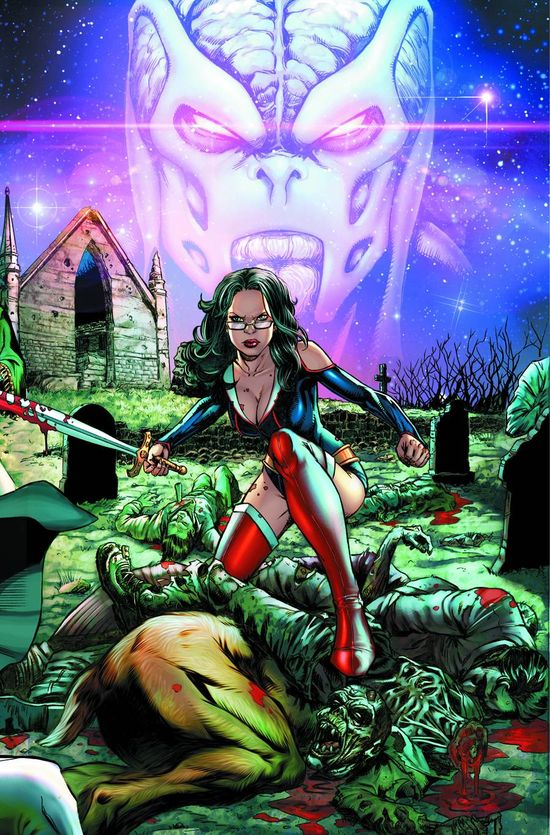 Zenescope HUNTERS SHADOWLANDS 1 Comic Book Cover A