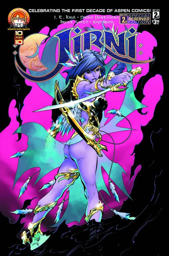 Aspen Comic Book Cover JIRNI 02 (OF 5)