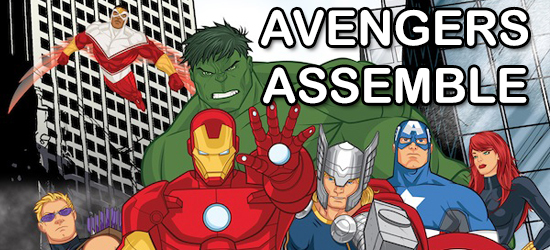 Avengers Assemble, Marvel, Marvel Cinematic Universe, Animated, Thor, Iron Man, Hulk, Captain America, Black Widow, Hawkeye, Falcon, Superhero, Avengers 2, Promo, Hollywood Gone Geek, @HwoodGoneGeek, HGG, Entertainment, Disney XD