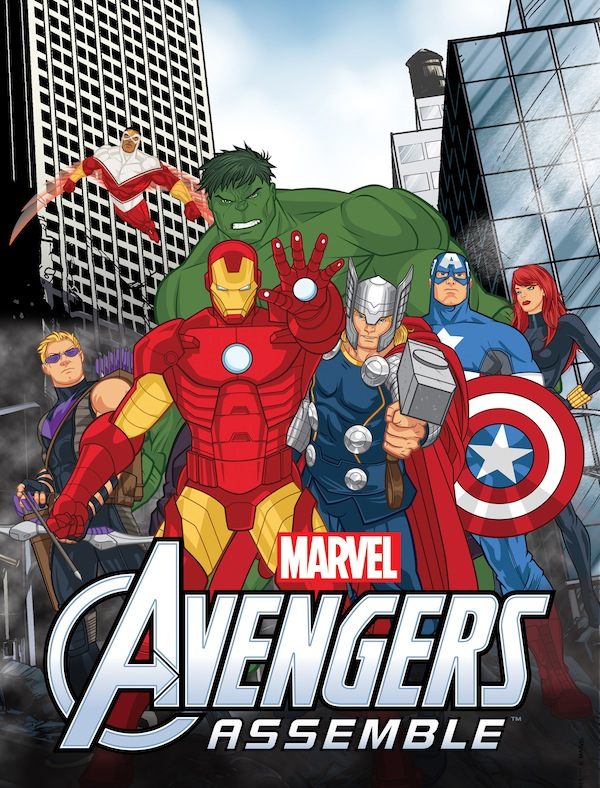 Avengers Assemble Marvel Animated Cartoon Disney XD Poster