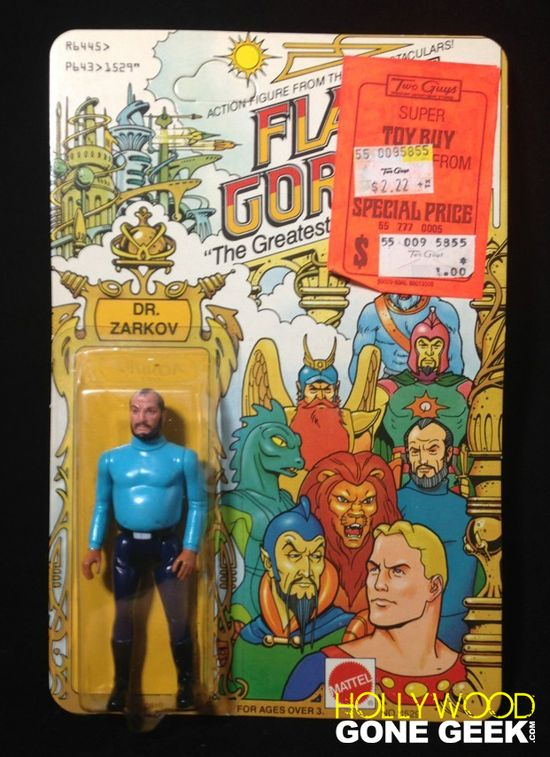 Flash Gordon Doctor Zarkov Mattel Action Figure 1979 copy