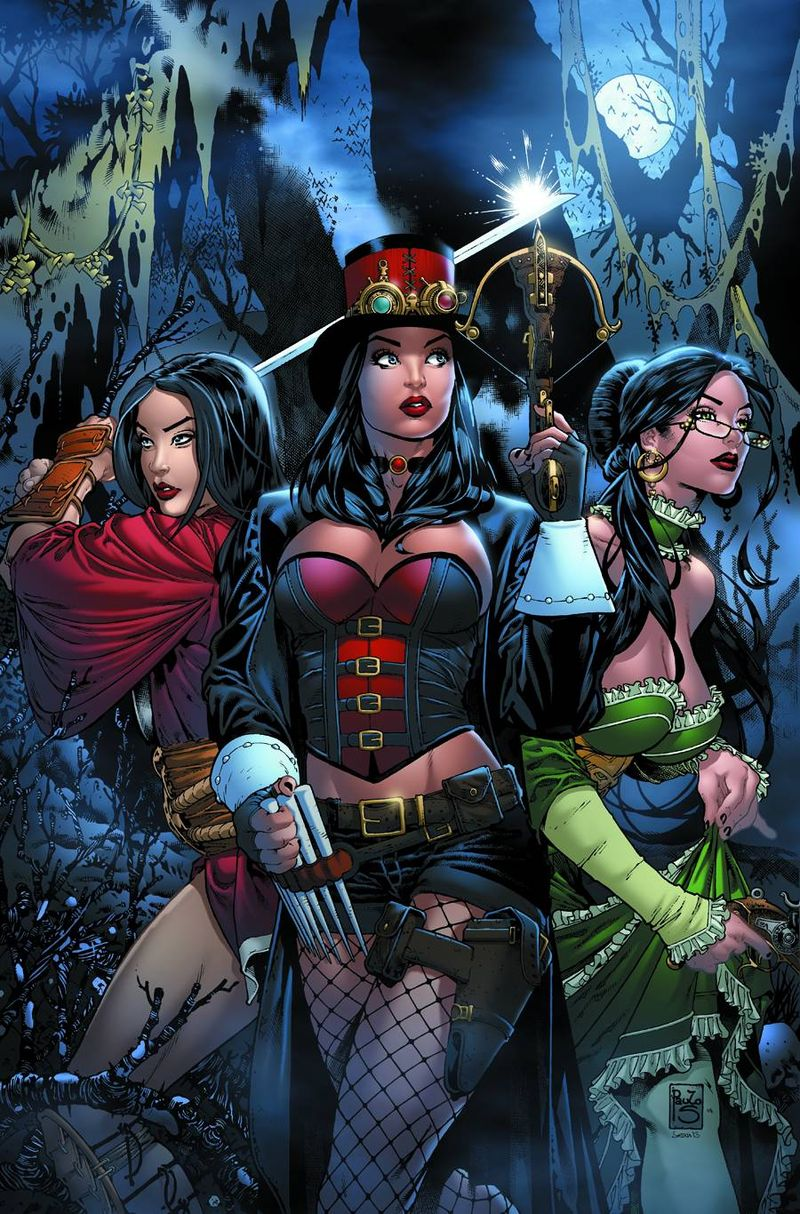 Zenescope HUNTERS SHADOWLANDS 1 Comic Book Cover