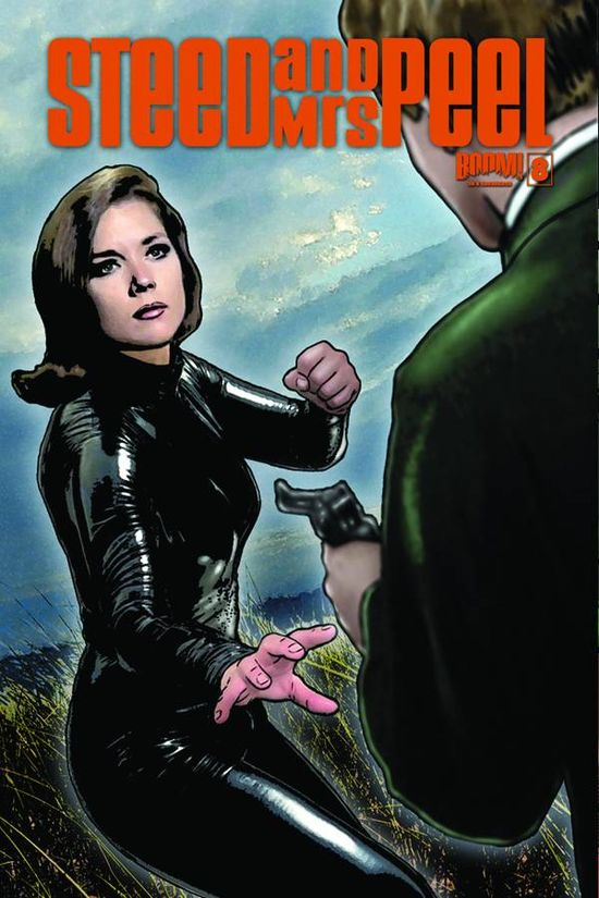 Boom Comic Book Cover STEED AND MRS PEEL 08