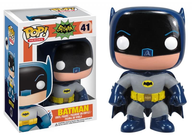 Batman 66 Television Funko Pop Vinyl Figure Dc Comics Adam West