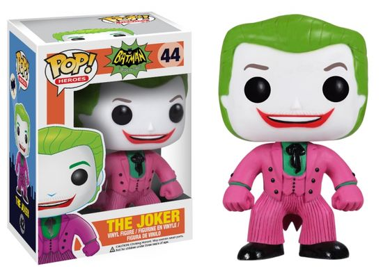 Batman 66 Television Funko Pop Vinyl Figure Dc Comics Joker
