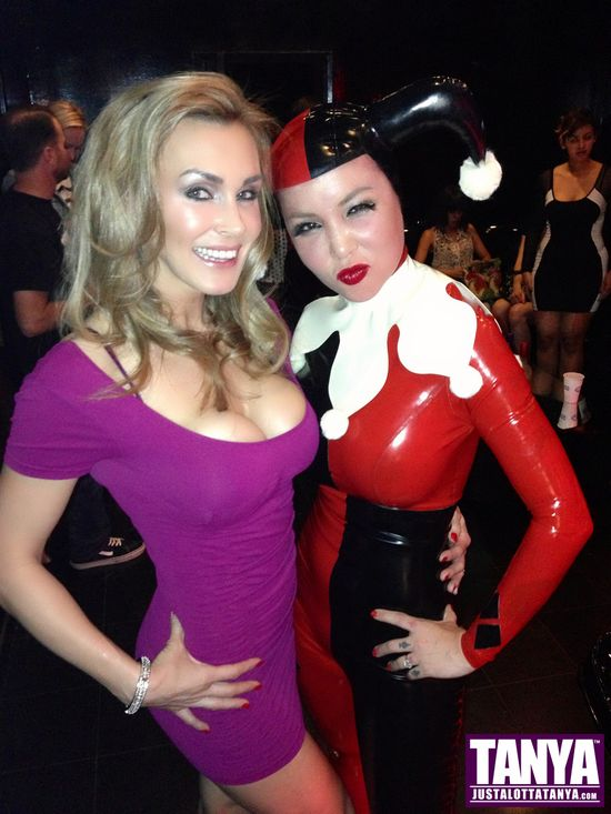 Tanya Tate, @TanyaTate, JustaLottaTanya, JLT, Masuimi Max, cosplay, naughty show, the comedy club, hollywood, Harley Quinn