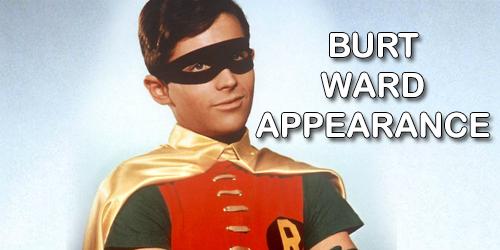 Hollywood Gone Geek, HGG, @HwoodGoneGeek, Burt Ward, Robin, Batman 66, Television Show, Superhero, Batman, Live Action, Entertainment, Signing, Appearance, Autographs, Photo Ops, Geek, Nerd, Comic Book, DC Comics, Batmobile