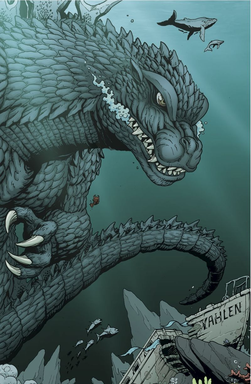 Godzilla Rulers of Earth IDW Hollywood Gone Geek 01