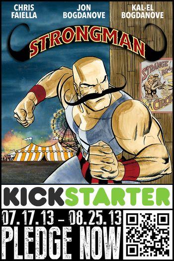 Strongman, Superman: The Man of Steel, Kickstarter, Jon Bogdanove, San Diego Comic Con, SDCC, 2013, Superhero, Comic Book