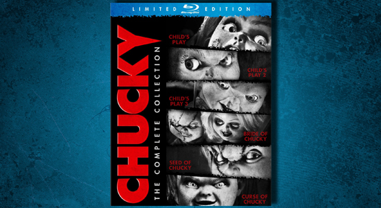 Curse of Chucky, Universal, Horror, Chucky: The Complete Collection, Child's Play, home media, blu-ray, DVD