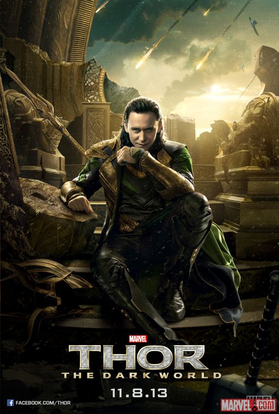 Marvel, Thor, Loki, Marvel Cinematic Universe, Phase 2, God of Thunder, Teaser, Poster, Chris Hemsworth, Natalie Portman, Tom Hiddleston, Stellan Skarsgård, Idris Elba, Christopher Eccleston, Jaimie Alexander, Rene Russo, Anthony Hopkins, Odin, Thor: The Dark World, Alan Taylor, Thor 2, Avengers, Shuperhero, Movie, Entertainment, Hollywood, Gone Geek, @HwoodGoneGeek, HGG