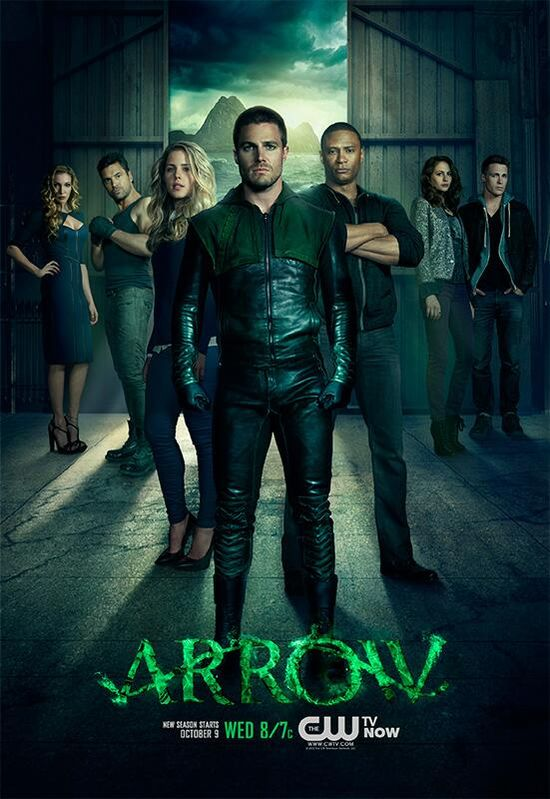 Arrow Season 2 Promo Teaser Poster
