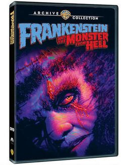 Tanya Tate, @TanyaTate, Hammer Films, Hammer Horror, Frankenstein And The Monster From Hell, Frankenstein, Peter Cushing, Madeline Smith, David Prowse, Horror, DVD, Made of Demand, Made To Order, WAC, Warner Archive Collection, Hammer Glamour