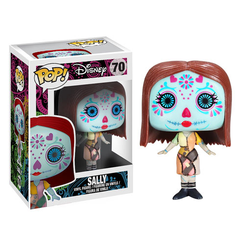 NBX Nightmare Before Christmas Sally Day of the Dead Pop! Vinyl Figure pop Funko Collectible Disney
