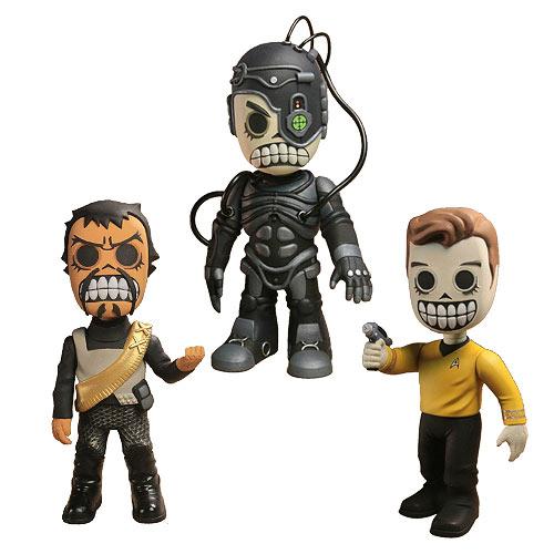 Star Trek Skele Treks Series 1 Vinyl Figure Set Neca Collectible