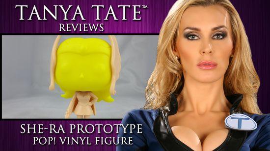 Tanya Tate, @TanyaTate, She-Ra, Masters of the Universe, MOTU, Princess of Power, POP, Funko, Vinyl Figure, Action Figure, Video, Review, Cosplay, Geek, Sexy Geek Girl, Entertainment, Powercon, He-man, Hordak, Skeletor, Spikor
