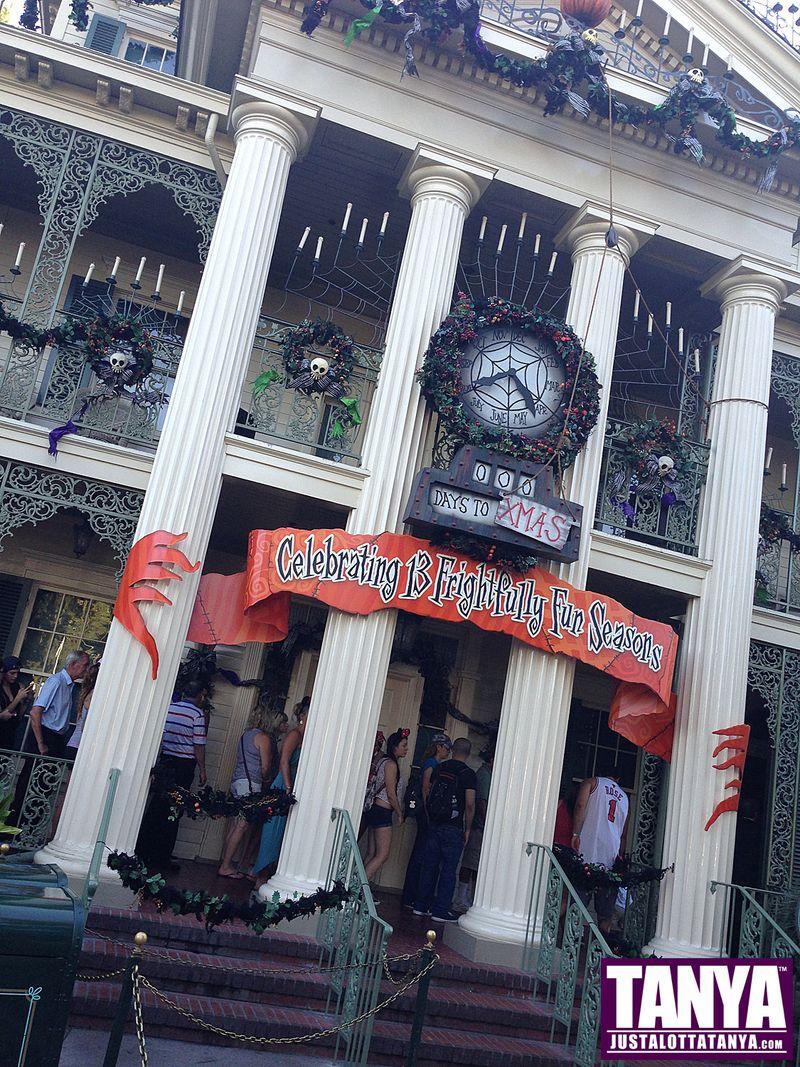 Tanya Tate Disneyland Disney Vacation Halloween 2013 014