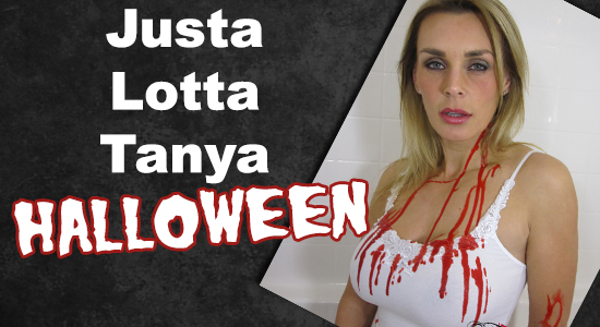 Tanya Tate, @TanyaTate, JLT, Justa Lotta Tanya, Halloween, Horror, dark, website, Update