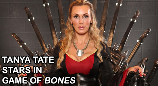 Tanya Tate, @TanyaTate, Game of Thrones, Game of Bones, Parody, Adult Video, Entertainment, Model, Actress, Cosplayer, Video, Movie, Cersei Lannister, Geektainmnet, Nerd, Fandom, Geek, HBO