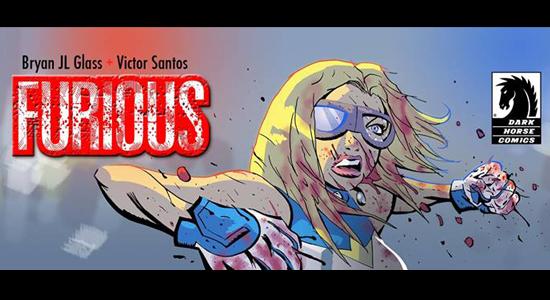 Furious Dark Horse Comic Book Social Media Twitter Facebook