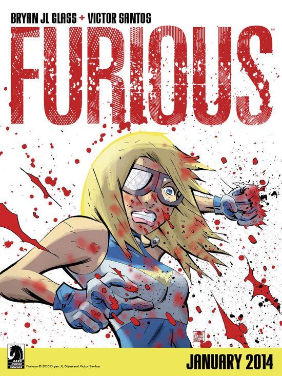 Furious Dark Horse Comic Book