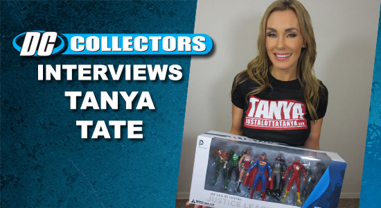 Tanya Tate, @Tanya Tate, DCcollectors.com, Interview, Dc Comics, Wonder Woman, Funko, POP, Cosplay, Sexy Geek Girl, Geek Girl, Entertainment, JLA, Action Figures, Toys, Vinyl Figures, Collectibles, Mego, Retro-Style