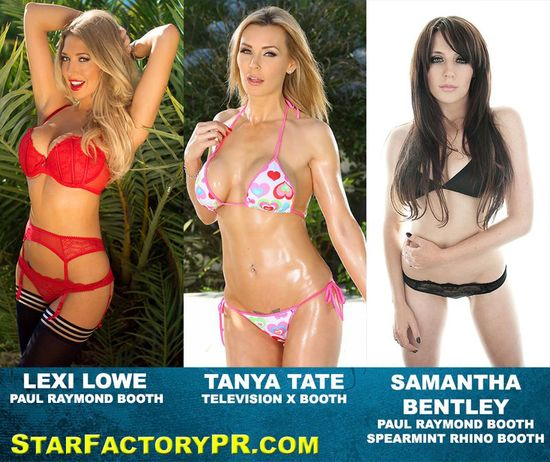 Star Factory PR Erotica Tanya Tate Lexi Lowe Samantha Bentley