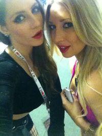 Erotica UK 2013 Samantha Bentley Lexi Lowe 001