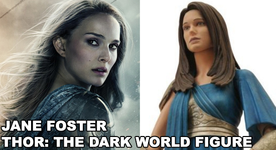 Jane Foster, Marvel Select, Thor 2, Thor, The Dark World. Natalie Portman, Sequel, Marvel Movie, Marvel Comics, Superhero, Sexy Geek Girl, Geek Girl, Collectible