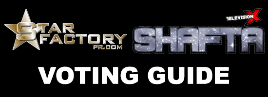 The Star Factory PR 2013 SHAFTA Awards Voting Guide