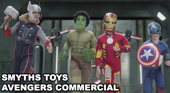 Avengers, Hulk, Captain America, Iron Man, Thor, Superhero, Smyths Toys Superstores, Toys, Costumes, Kids, Dress-up, Commercial, Marvel Comics, Entertainment, Geek Merchandise, Mini-Avengers