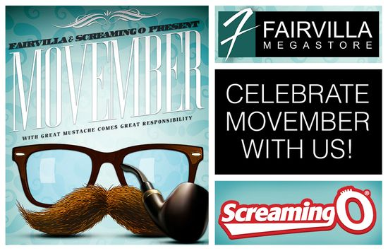 Fairvilla Movember Screaming O PR