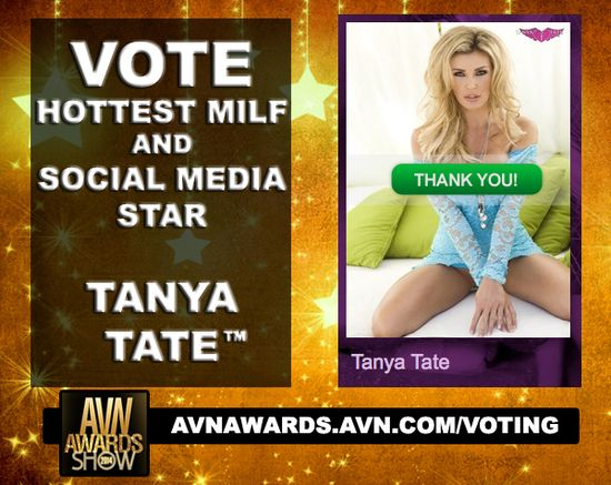 Tanya Tate Pornstar Vote AVN Awards 2014 01