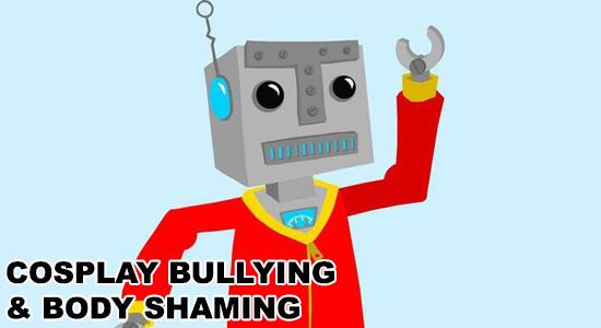 Robots Pajamas cosplay bullying body shaming