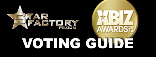 Star Factory Xbiz Awards Voting Guide 2014