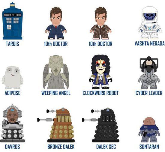 Tenth Doctor Who Vinyl Figures Series 2 Titan Merchandise