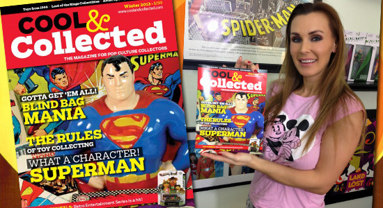 Cool and Collected, Tanya Tate, @TanyaTate, Sexy geek girl, Toys, Action Figures, Review, Magazine, Pop Culture