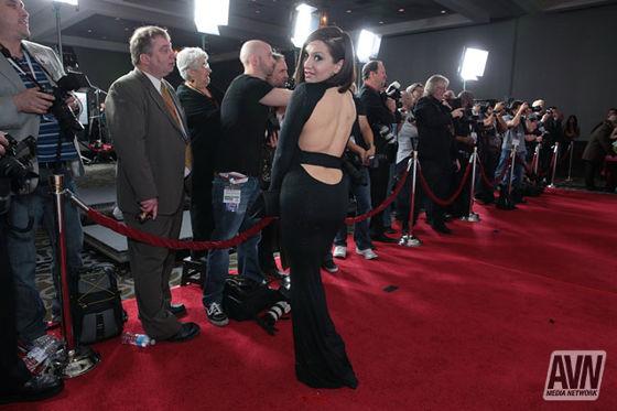 Lea Lexis AVN Awards 2014 Red Carpet 544619