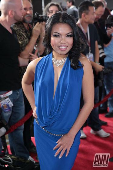 Cindy Starfall AVN Awards 2014 Red Carpet 544701