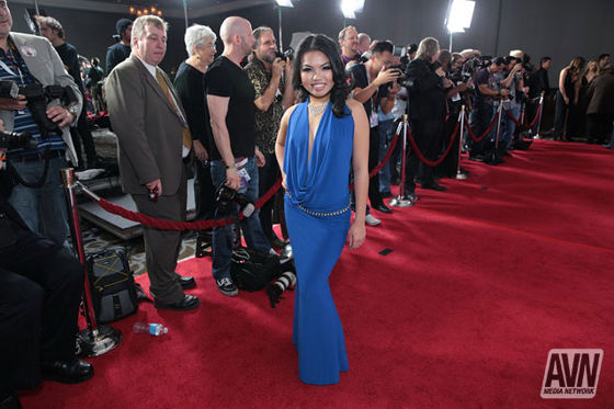 Cindy Starfall AVN Awards 2014 Red Carpet 544714
