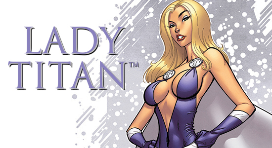 Tanya Tate, @TanyaTate, Lady Titan, Superhero, Cosplay, Comic Book, Promo, Poster, Art, SDCC, Comic Con, Exclusive, 11x17, Signed, Autographed