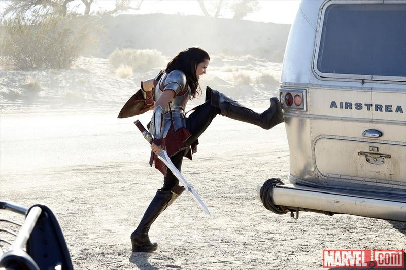 Marvel Agents of Shield Sif Thor 007