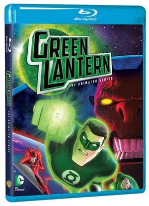 Green Lantern The Animated, Blu-Ray, Dc Comics, Warner Archive Collection, Green Lantern, Hal Jordan, DC Animated Universe, DCU, Home Media