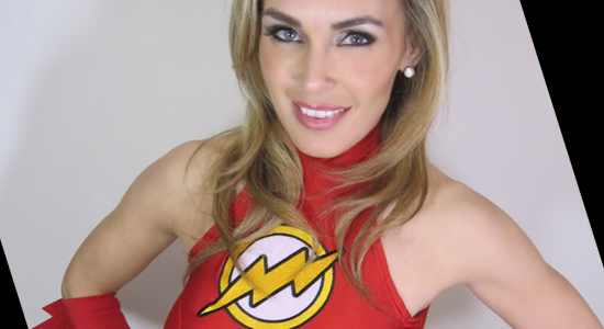 Tanya Tate, @TanyaTate, Cosplay, The Flash, DC Comic, Barry Allen, Superhero, Sexy Geek Girl, Cosplayer, Wondercon, Geek Girl