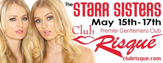Club Risque Announces Anniversary Parties and the Debut of the Starr Sisters 02