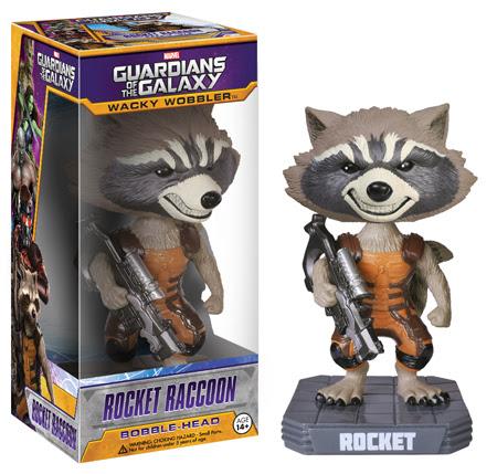 Funko Wobbler Marvel Guardians of The Galaxy - Rocket Raccoon Figure